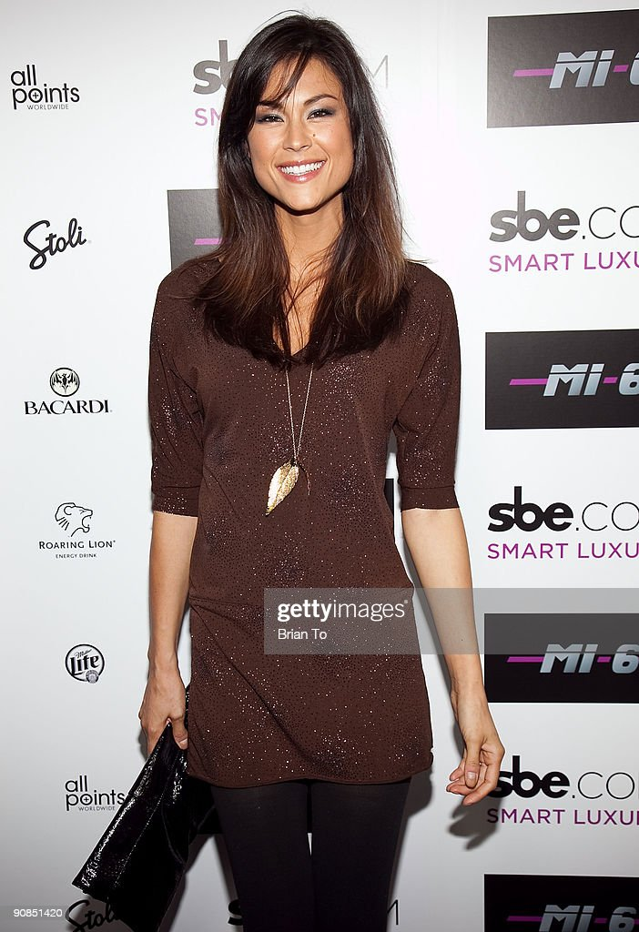 Lisa Mae attends Mi-6 Nightclub Grand Opening Party on September 15, 2009 in West Hollywood, California.