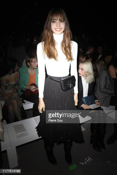 Lisa Manobal attends the Celine Womenswear Spring/Summer 2020 show as part of Paris Fashion Week on September 27 2019 in Paris France