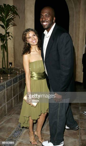 Lisa Marcos and John Salley