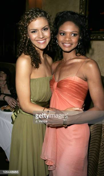 """Lisa Marcos and Kimberly Elise during Tyler Perry's """"Diary of a Mad Black Woman"""" Los Angeles Premiere - After Party at The Sunset Room in Los..."""