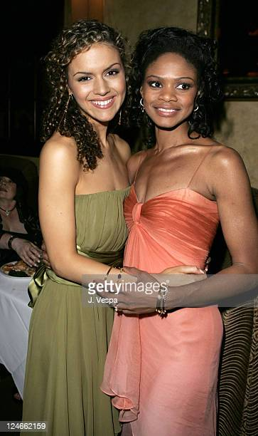 Lisa Marcos and Kimberly Elise