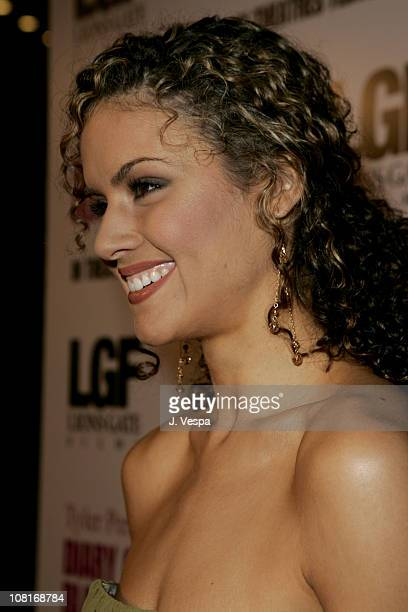 Lisa Marcos during Tyler Perry's Diary of a Mad Black Woman Los Angeles Premiere - Red Carpet at Arclight Hollywood in Hollywood, California, United...