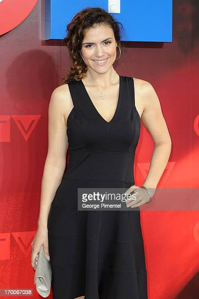 Lisa Marcos from 'Played' attends CTV Upfront 2013 Presentation at Sony Centre For Performing Arts on June 6, 2013 in Toronto, Canada.