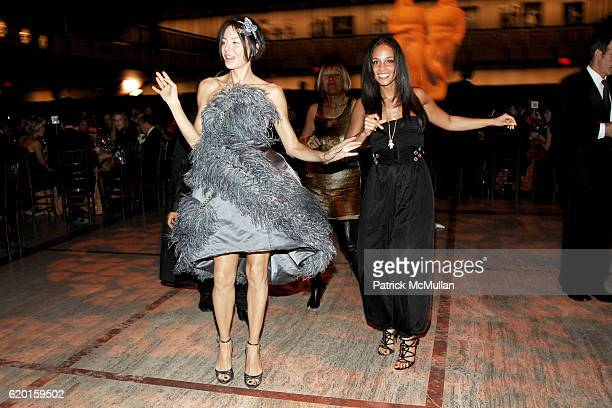 Lisa Maria Falcone and Alicia Keys attend NEW YORK CITY BALLET 2008 Opening Night Dinner Party at David H Koch Theater on November 25 2008 in New...