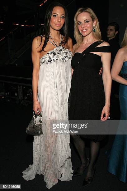 Lisa Maria Falcone and Claudia Peltz attend The Museum Gala at American Museum of Natural History on November 16 2006 in New York City