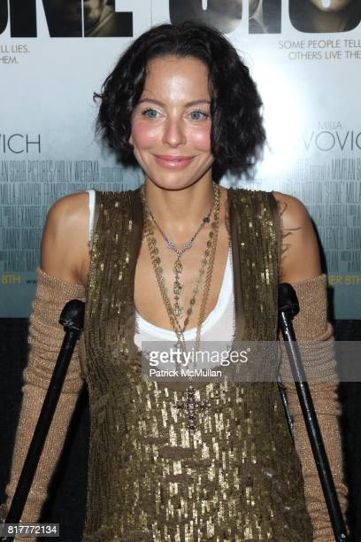 Lisa Maria Falcone attend OVERTURE FILMS' Premiere of STONE at MoMA on October 5th 2010 in New York City