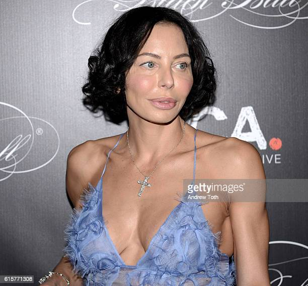 Lisa Maria Falcone attends Keep a Child Alive's 13th annual Black Ball at Hammerstein Ballroom on October 19 2016 in New York City