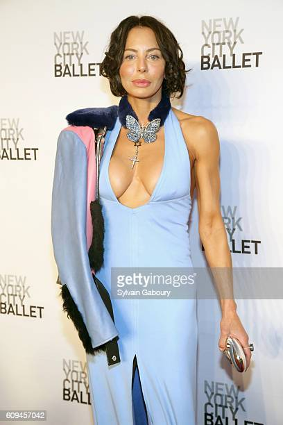 Lisa Maria Falcone attends New York City Ballet 2016 Fall Fashion Gala at David H Koch Theater Lincoln Center on September 20 2016 in New York City