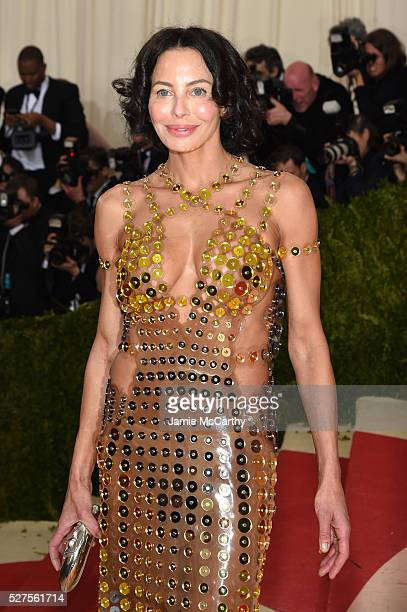 Lisa Maria Falcone attends the Manus x Machina Fashion In An Age Of Technology Costume Institute Gala at Metropolitan Museum of Art on May 2 2016 in...