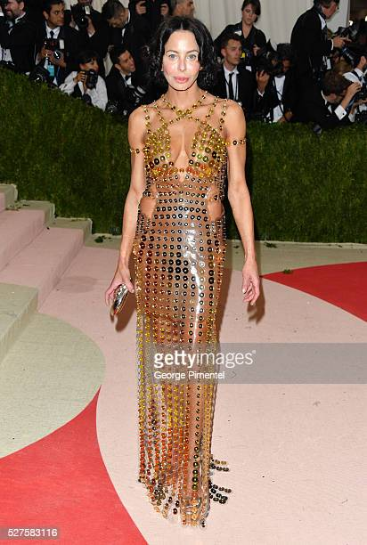 Lisa Maria Falcone attends the 'Manus x Machina Fashion in an Age of Technology' Costume Institute Gala at the Metropolitan Museum of Art on May 2...