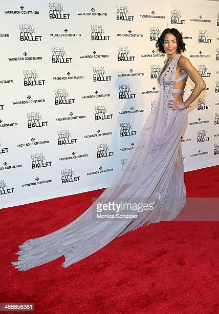 Lisa Maria Falcone attends the New York City Ballet 2014 Spring Gala at David H Koch Theater Lincoln Center on May 8 2014 in New York City
