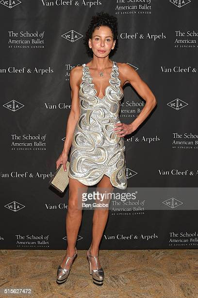 Lisa Maria Falcone attends The School Of American Ballet's 2016 Winter Ball at the David H Koch Theater at Lincoln Center on March 14 2016 in New...