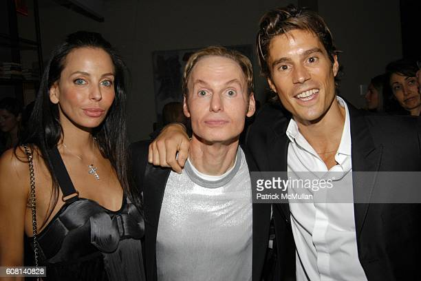 Lisa Maria Falcone Dr Fredric Brandt and attend DR FREDRIC BRANDT Celebrates His New Book 10 MINUTES 10 YEARS at The Core Club on April 18 2007 in...
