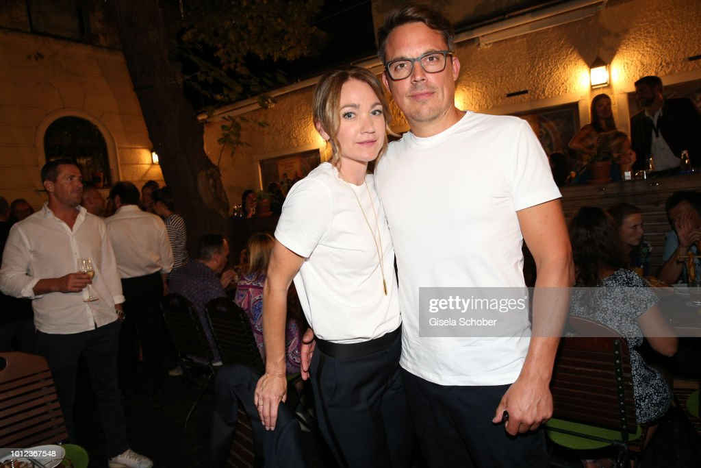 Lisa Maria Potthoff And Her Husband Thorsten Berg During The News
