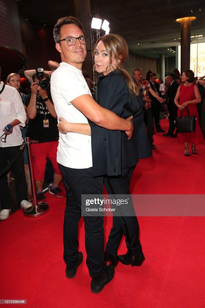 Lisa Maria Potthoff and her husband Thorsten Berg during