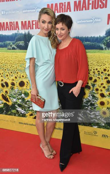 Lisa Maria Potthoff and Jule Ronstedt during the 'Maria Mafiosi' Premiere at Sendlinger Tor Filmpalast on May 29 2017 in Munich Germany