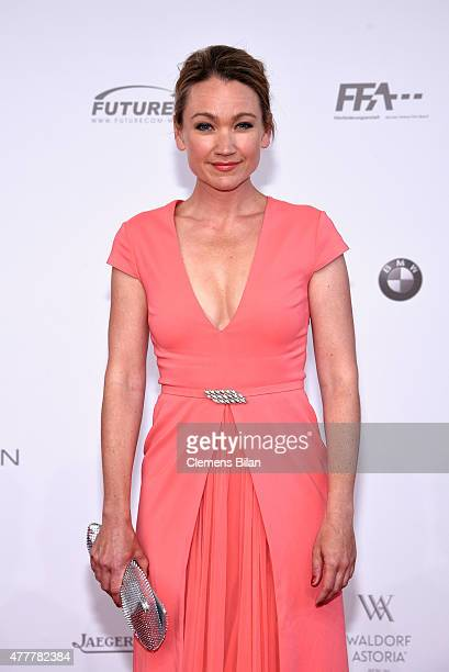 Lisa Maria Potthoff arrives for the German Film Award 2015 Lola at Messe Berlin on June 19 2015 in Berlin Germany