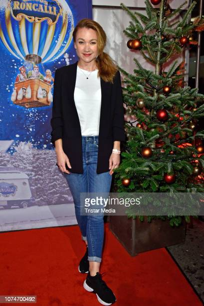 Lisa Maria Potthoff attends the 15th Roncalli christmas circus premiere at Tempodrom on December 22 2018 in Berlin Germany