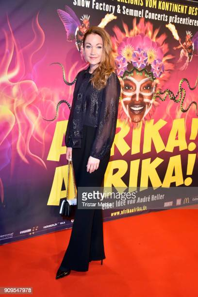 Lisa Maria Potthoff attends the Afrika Afrika 2018 Show Premiere on January 23 2018 in Berlin Germany