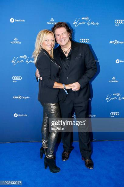 Lisa Maria Potthoff attends the Blue Hour Party hosted by ARD during the 70th Berlinale International Film Festival at Museum der Kommunikation on...