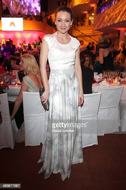 Lisa Marie Potthoff attends the German Film Ball 2014 at Hotel Bayerischer Hof on January 18 2014 in Munich Germany