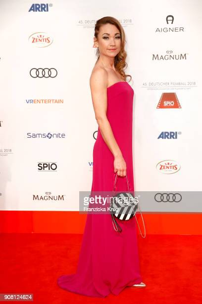 Lisa Maria Potthoff attends the German Film Ball 2018 at Hotel Bayerischer Hof on January 20 2018 in Munich Germany