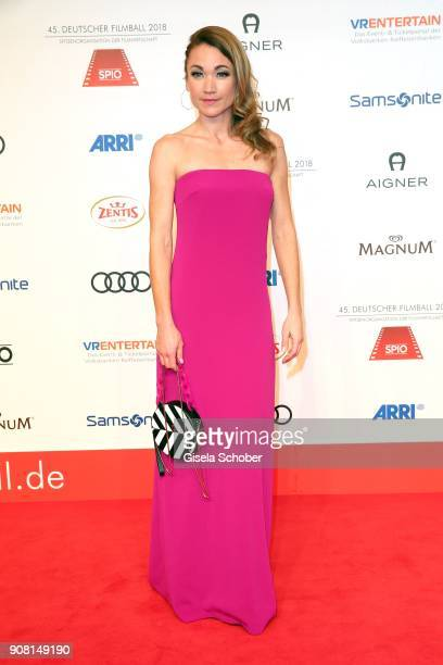 Lisa Maria Potthoff during the German Film Ball 2018 at Hotel Bayerischer Hof on January 20 2018 in Munich Germany