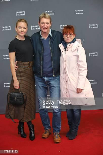 Lisa Maria Potthoff Thomas Kronthaler and Ulrike Krumbiegel attend the Film Festival Hamburg 2019 on September 30 2018 in Hamburg Germany