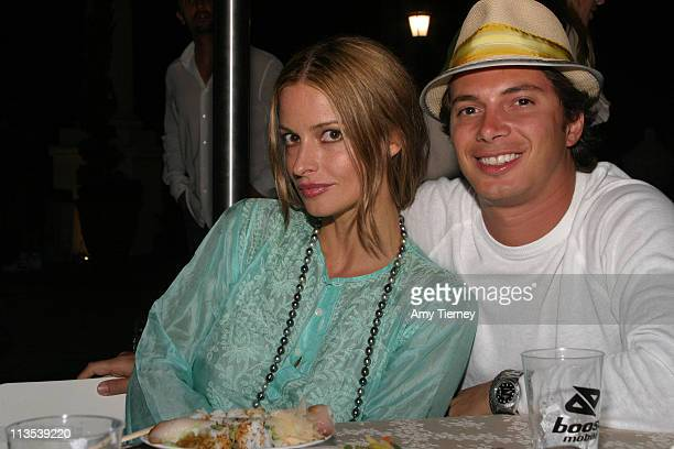 Lisa Marie and Nick D'Annunzio during Boost Mobile Pro of Surf Celebrity Poker Night at St. Regis Hotel, Dana Point in Laguna Nigel, California,...