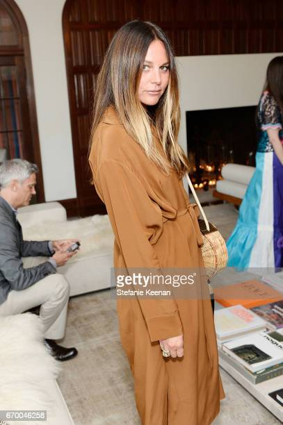 Lisa Marie Fernandez attends Tania Fares and Rosetta Getty Together with Eric Buterbaugh Gia Coppola Jacqui Getty Irena Medavoy Jennifer Meyer...