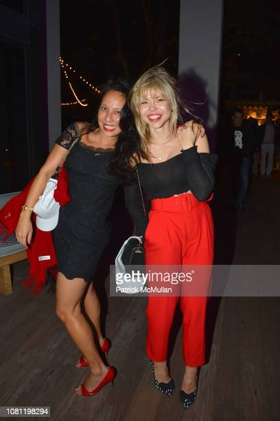 Lisa Marie Kao and Irina Toma attend Carlos Betancourt at ABMB 2018 at The W Hotel South Beach on December 6 2018 in Miami FL