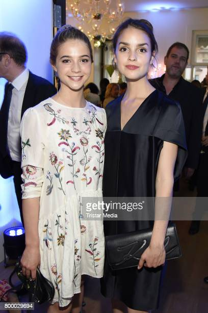 Lisa Marie Koroll and Luise Befort attend the Bertelsmann Summer Party on June 22 2017 in Berlin Germany