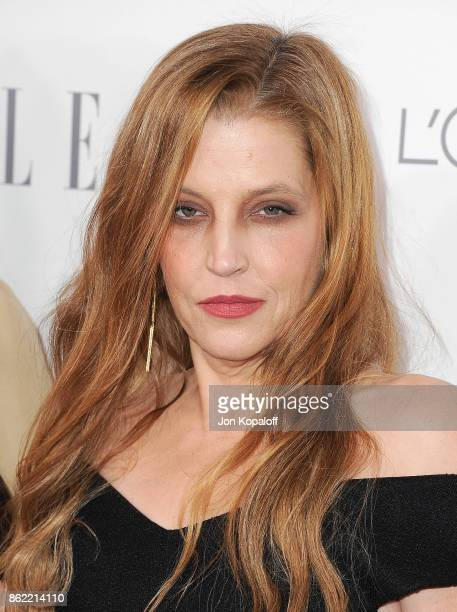 Lisa Marie Presley arrives at ELLE's 24th Annual Women in Hollywood Celebration at Four Seasons Hotel Los Angeles at Beverly Hills on October 16 2017...