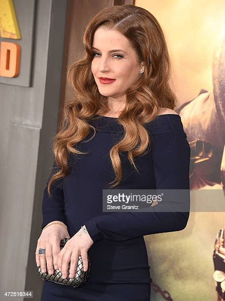 """Lisa Marie Presley arrives at the """"Mad Max: Fury Road"""" - Los Angeles Premiere at TCL Chinese Theatre IMAX on May 7, 2015 in Hollywood, California."""