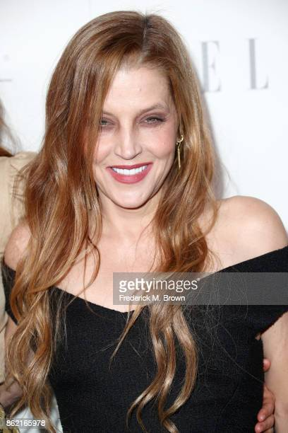 Lisa Marie Presley attends ELLE's 24th Annual Women in Hollywood Celebration at Four Seasons Hotel Los Angeles at Beverly Hills on October 16 2017 in...