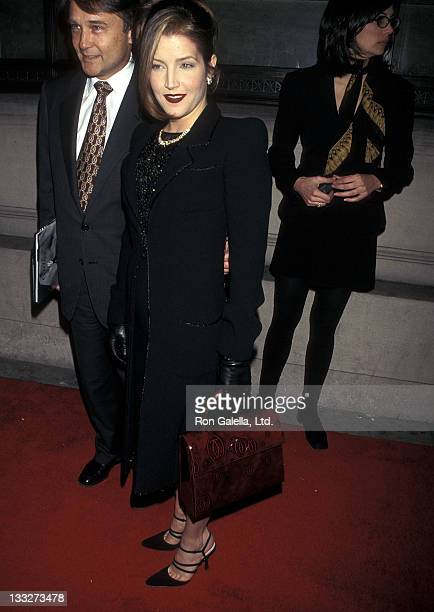 Lisa Marie Presley attends the Party to Celebrate the Photographic Book 'Cartier Untamed' for Cartier's 150th Anniversary on November 20 1997 at...