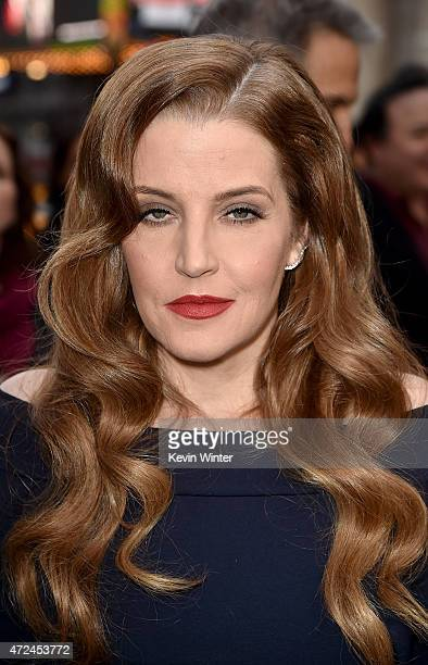 Lisa Marie Presley attends the premiere of Warner Bros Pictures' 'Mad Max Fury Road' at TCL Chinese Theatre on May 7 2015 in Hollywood California