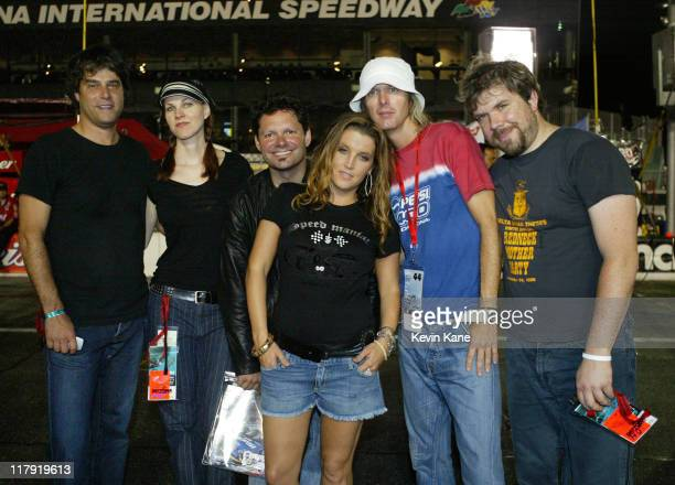 Lisa Marie Presley Band on pit road during the prerace activites of the NASCAR Nextel Cup Pepsi 400 race at Daytona International Spedway on July 2...