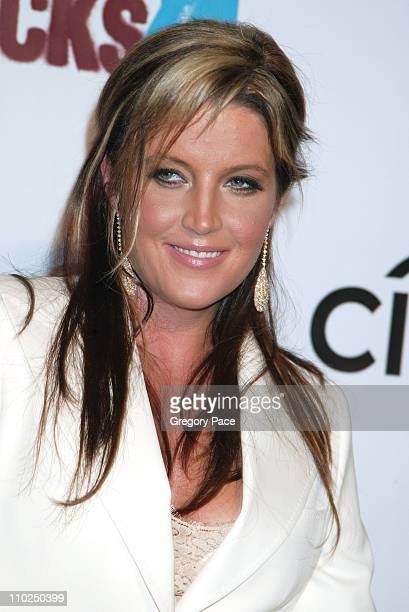 Lisa Marie Presley during 2005 Fashion Rocks Red Carpet Arrivals at Radio City Music Hall in New York City New York United States