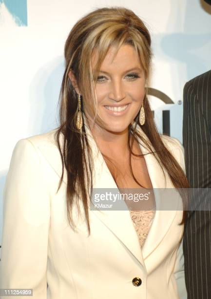Lisa Marie Presley during 2005 Fashion Rocks Red Carpet at Radio City Music Hall in New York City New York United States