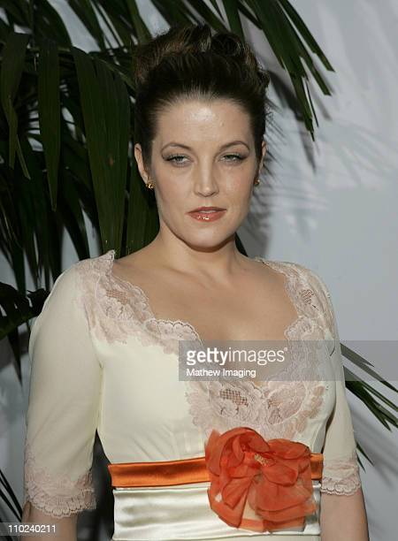 Lisa Marie Presley during 2005 MusiCares Person of the Year Brian Wilson Arrivals at Palladium in Hollywood California United States