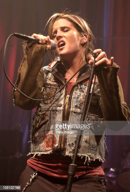 Lisa Marie Presley during Lisa Marie Presley performs at a New York Showcase prior to the release of Capitol Records To Whom it May Concern at SIR...