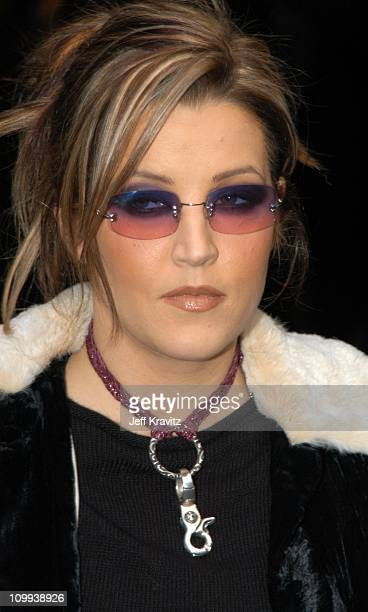 Lisa Marie Presley during MTV Icon Metallica Arrivals at Universal Studios Stage 12 in Universal City CA United States