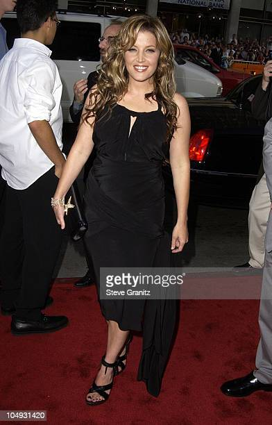 Lisa Marie Presley during Windtalkers Premiere at Grauman's Chinese Theatre in Hollywood California United States