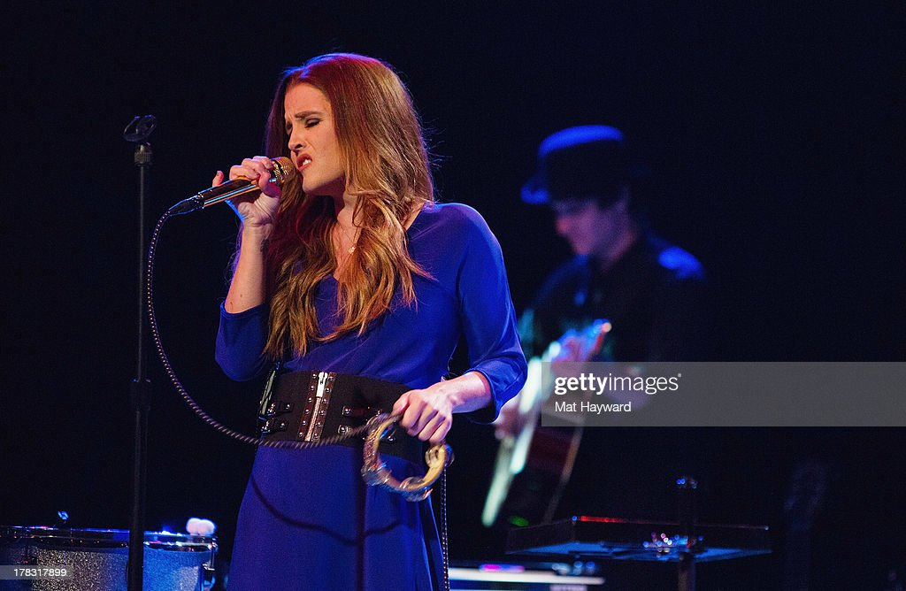 Lisa Marie Presley performs on stage at the Triple Door Theater on August 28 2013  sc 1 st  Getty Images & Lisa Marie Presley Performs At The Triple Door Theatre Photos and ...