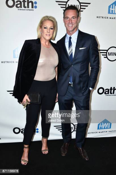 """Lisa Marie Ringus and Rod Smith attend Hetrick-Martin Institute's 2017 """"Pride Is"""" Emery Awards at Cipriani Wall Street on November 6, 2017 in New..."""