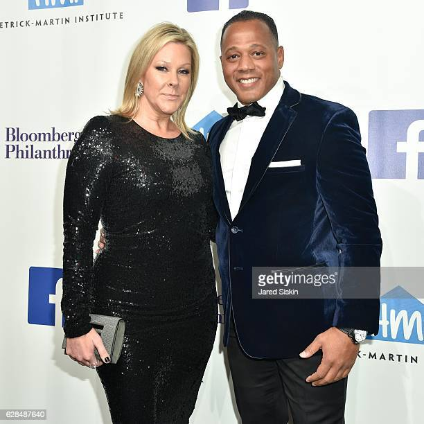 Lisa Marie Ringus and Sean James attend the Hetrick-Martin Institute's 30th Annual Emery Awards: Help Me Imagine at Cipriani Wall Street on December...