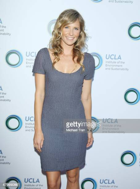 Lisa Marie Sheldon arrives at An Evening of Environmental Excellence presented by the UCLA Institute of The Environment and Sustainability held at a...