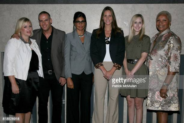 Lisa Marsh Patrick McGregor Rachel Roy Stephanie Winston Wolkoff Jane Keltner de Valle and Audrey Smaltz attend A Life in Fashion presentation by...