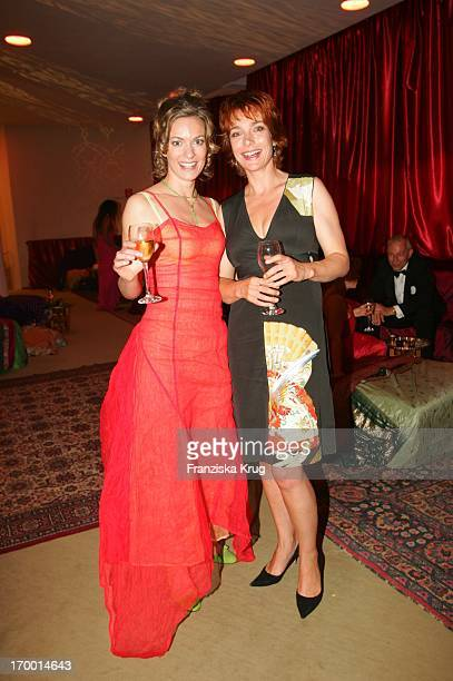 Lisa Martinek and Aglaia Szyszkowitz After Party at 55th Ceremony Of The German Film Award in the Berlin Philharmonic Hall on 080705
